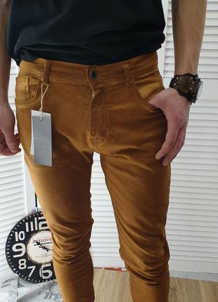 Брюки джинсовые zara