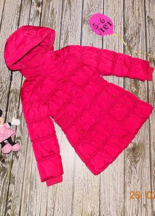 Демисезонное пальто palomino для девочки 5-6 лет, 110-116 см