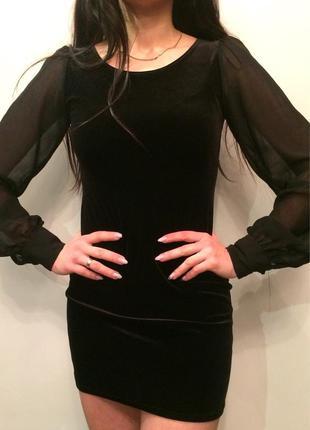 Бархатне плаття new look