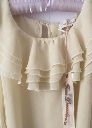 Нежная блуза uk 10, true decadence, великобритания