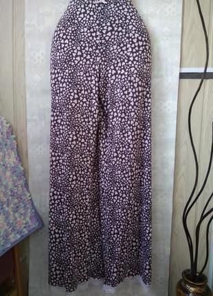 Пижамные брюки штаны в розовых сердечках