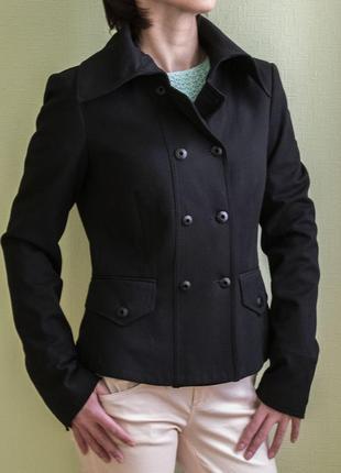 Черная короткая куртка/пиджак/жакет/ветровка  mexx, размер s