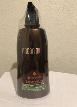 Безсульфатный шампунь с аргановым маслом от bingo hair cosmetic