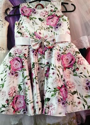 Нарядное платье! пышные праздничные бальные платья!