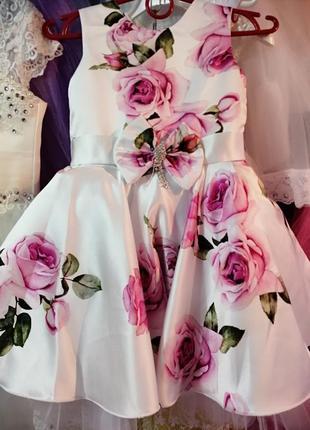 Нарядное платье! пышные праздничные бальные платья
