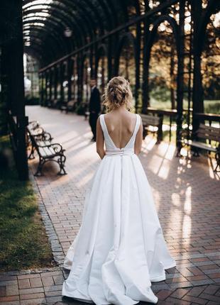 Дизайнерское свадебное платье robin от oksana mukha