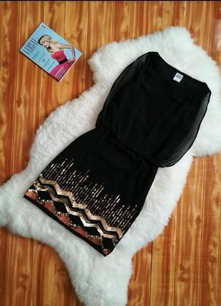 Платье от  vero moda. с пайетками.