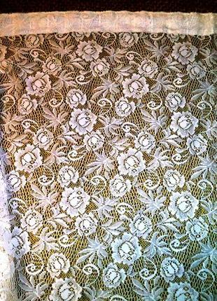 Ажурная плотная тюль в стиле прованс2 фото