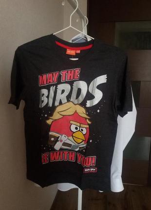 Футболка 152/12 angry birds