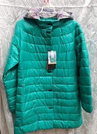 Демисезонная куртка plist больших размеров
