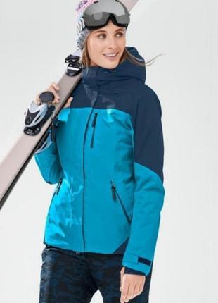 """Высокотехнологичная лыжная куртка """"snow tech"""", 3m ™ thinsulate tchibo евро 44=50 наш"""