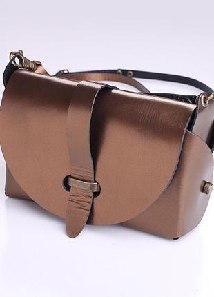 Сумка кожаная женская bag-3 красная