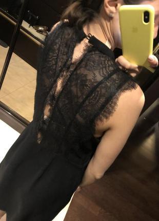 Платье с кружевной спиной michael kors2