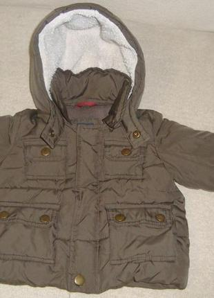 Куртка gap 0-6 мес