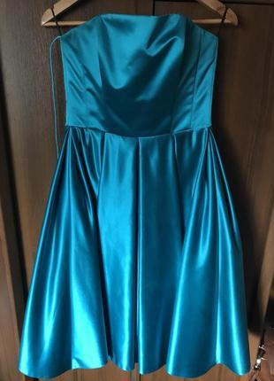 Платье корсетное бальное для выпускного