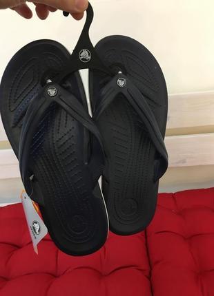 Кроксы сланцы crocs crocband flip flop