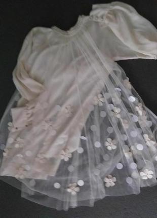 Легкая невесомая струящаяся блуза