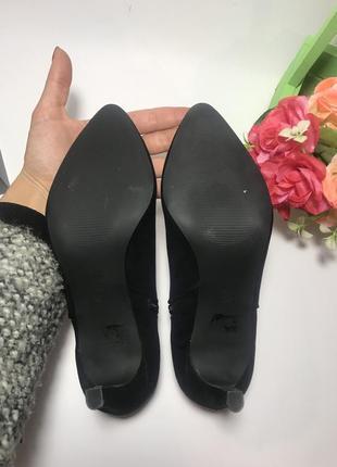Стильные замшевые ботинки papaya 37 размер4 фото