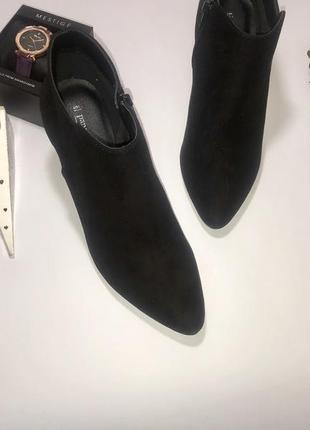 Стильные замшевые ботинки papaya 37 размер5 фото