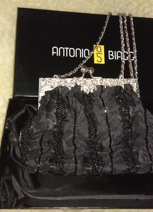 Antonio biaggi стильная сумочка,кроссбоди .