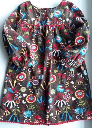 Платье m&s 12-24 мес