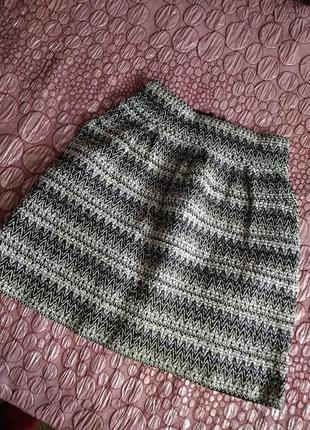 Крутая юбка трапеция. объемная юбка