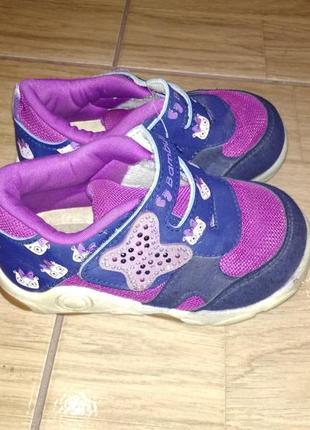 Фирменные кроссовки полуботинки 26 р bambulini