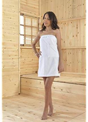 Банный полотенце,парео махровое для сауны