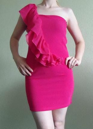 Красивое яркое платье, р.44 xs