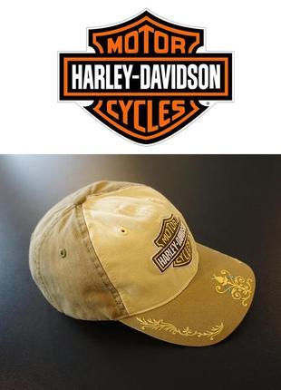 Оригинальная женская кепка бейсболка harley davidson