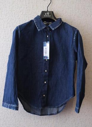 Джинсовая рубашка cycle (италия)