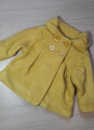 Модне пальто куртка для дівчинки 1р next