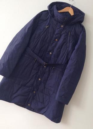 Куртка пальто  тонкий пуховик tommy hilfiger ,большой размер !