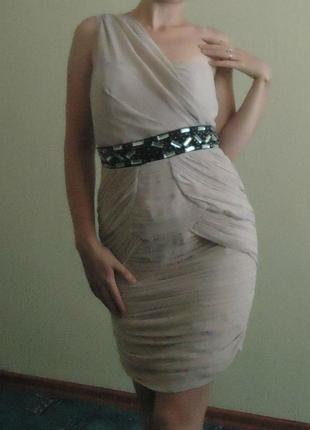 Шикарное фирменное платье lipsy, р.44-46