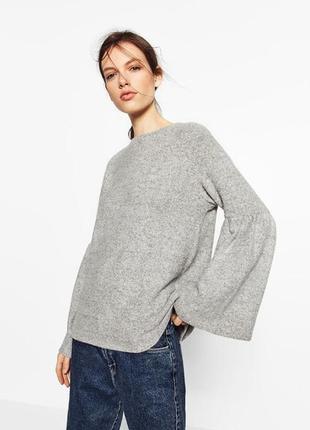 Кофта/свитер с расклешенными рукавами zara