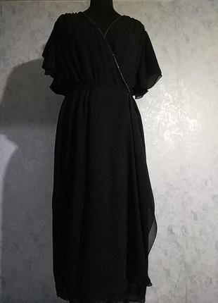 Домашня сукня пеньюар на запах розмір uk 10