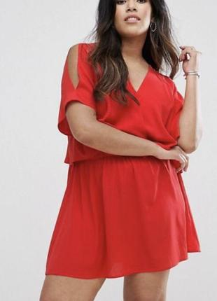Актуальный бордовый сарафан/платье 🍒