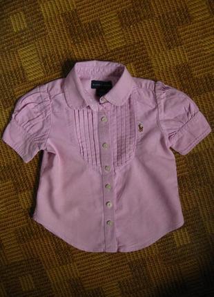 Блуза, рубашка - ralph lauren - ральф лаурен - возраст 2года - 2/2t