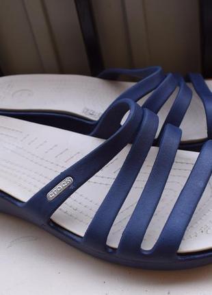 Шлепанцы шлепки сланцы crocs кроксы w 11 р.42 43 28 см