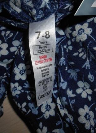 Комбинезон ромпер со штанами george 7-8 лет, 122-128 см, оригинал6 фото