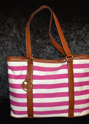 Летняя сумка шоппер michael kors, оригинал