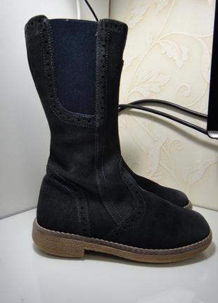Демисезонные кожаные сапоги полу сапоги ботинки bo-bell р. 28 (18,5см )