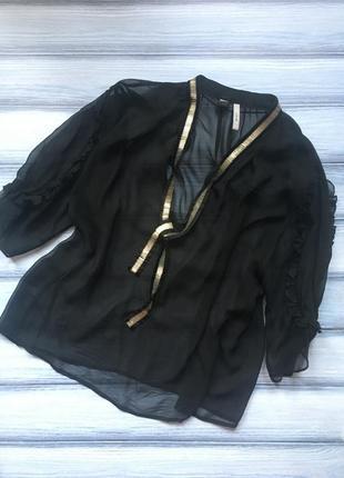 Стильна прозора блуза mango