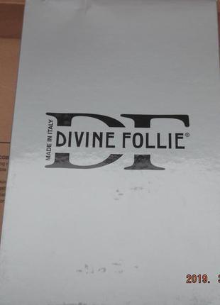 Италия. босоножки divine follie. новые, по цене закупки.