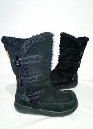 Замшевые зимние сапоги rocketdog(рокетдог)