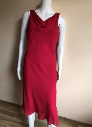 Платье шелковое laura ashley