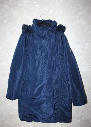 Жіноча зимова куртка 54 розмір
