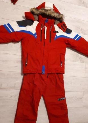 Зимний костюм лыжный комбинезон куртка
