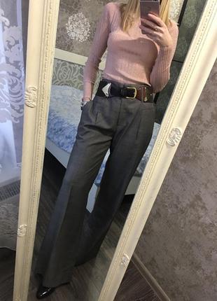 Широкие стильные брюки