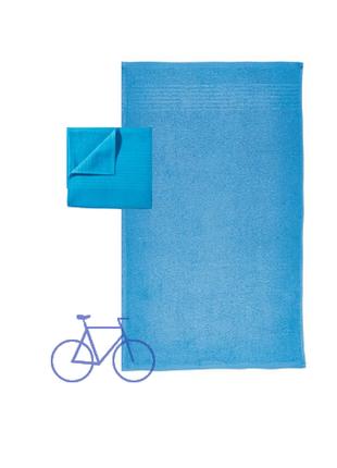 Набор хлопок полотенце miomare германия, 120х65 см и 40х30 см